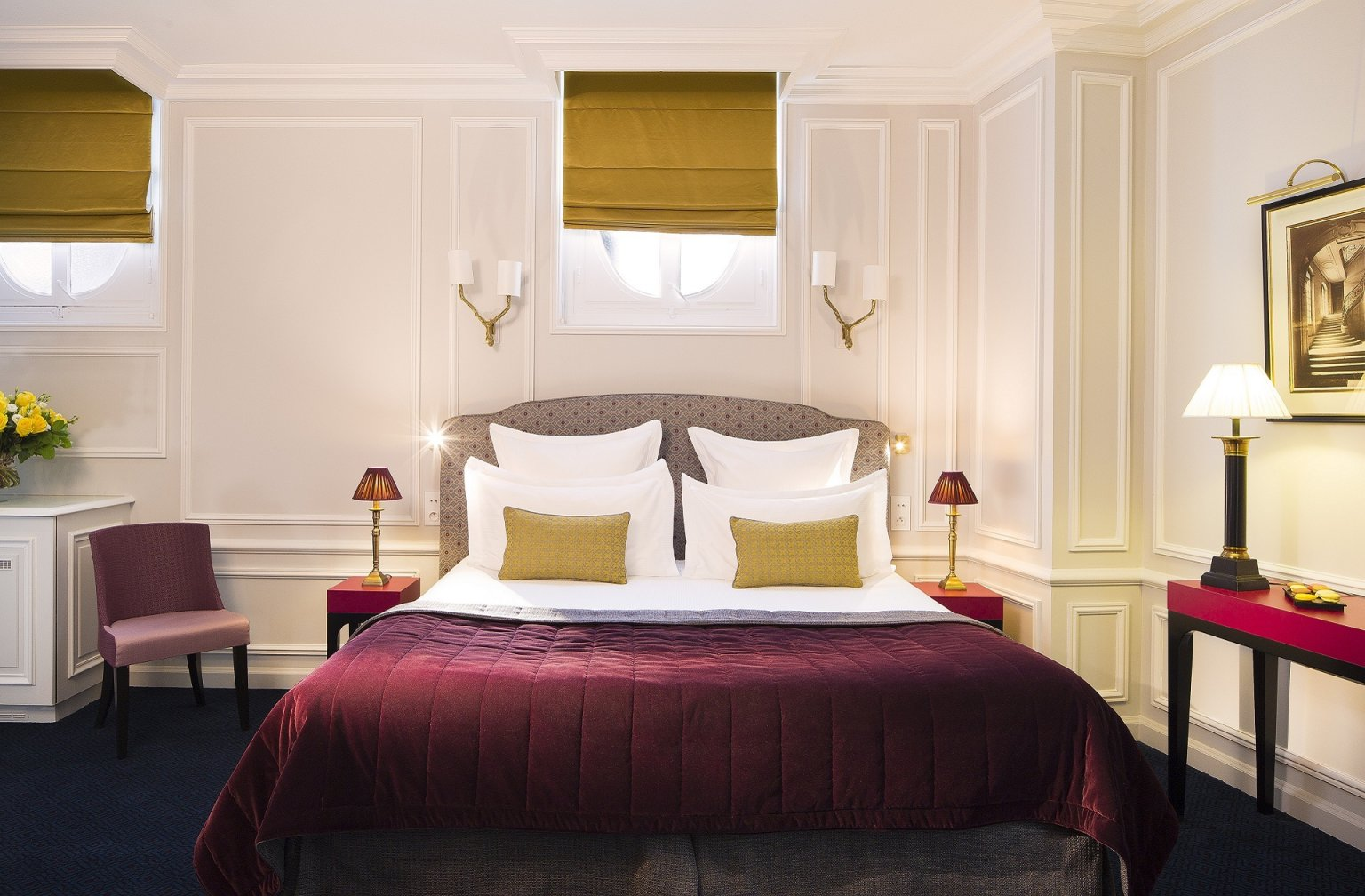 Les chambres | Hôtel Bourgogne & Montana