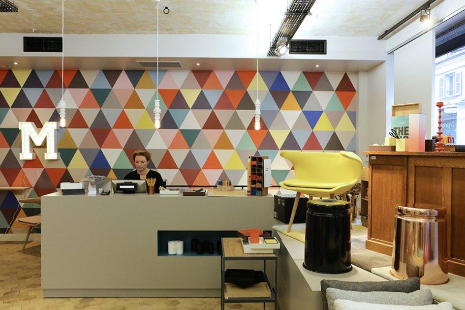 Le 7 me arrondissement le design au rdv h tel bourgogne for Boutique hotel 7eme